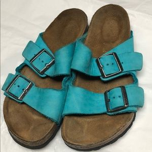 Birkenstock's Arizona soft leather size(38) EU